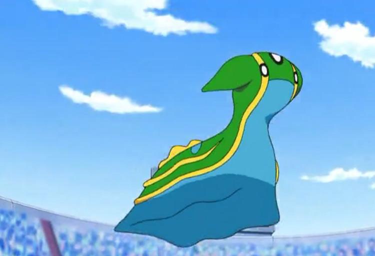 Gastrodon (Water/Ground) Pokémon in the anime
