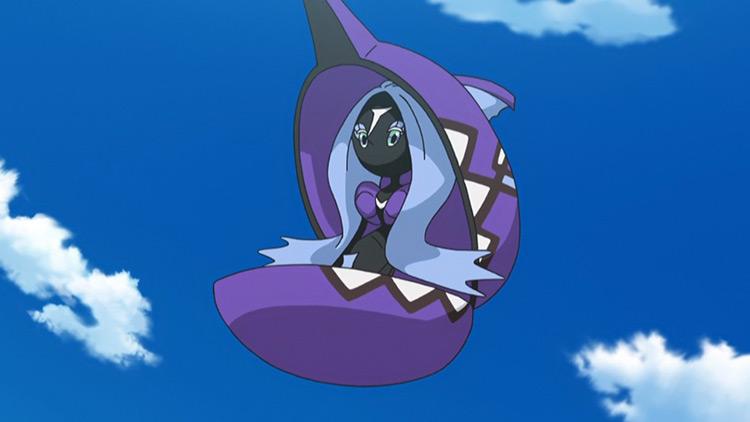 Tapu Fini (Water/Fairy) Pokémon in the anime