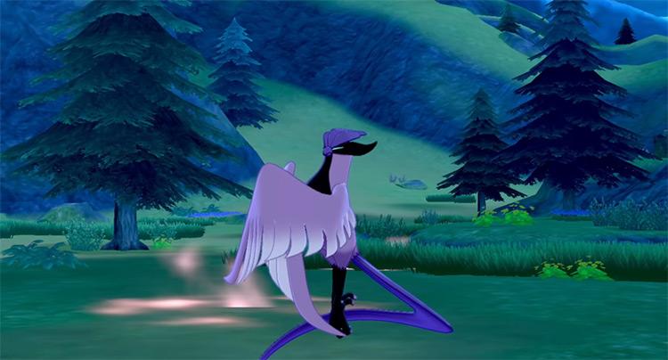 Galarian Articuno Pokemon Sword and Shield