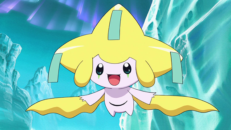 Jirachi Pokemon in the anime
