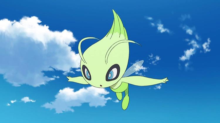 Celebi from Pokemon anime