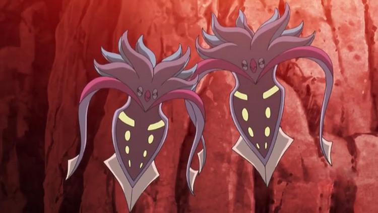 Malamar Pokemon in the anime