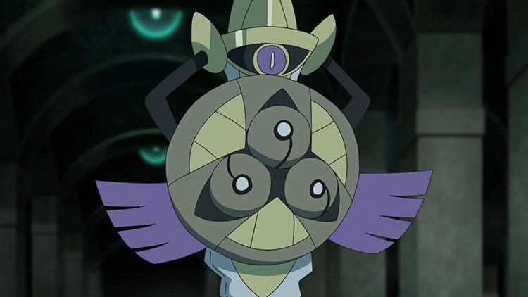 Aegislash Pokemon anime screenshot