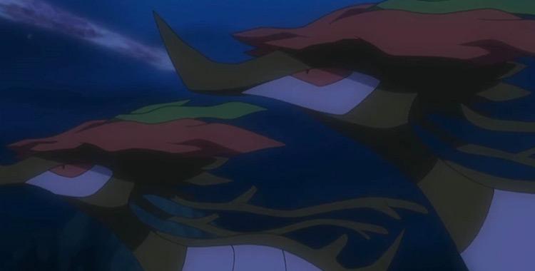 Dragalge Pokemon in the anime