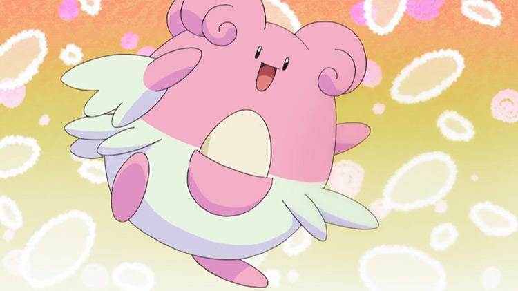Blissey from Pokemon anime