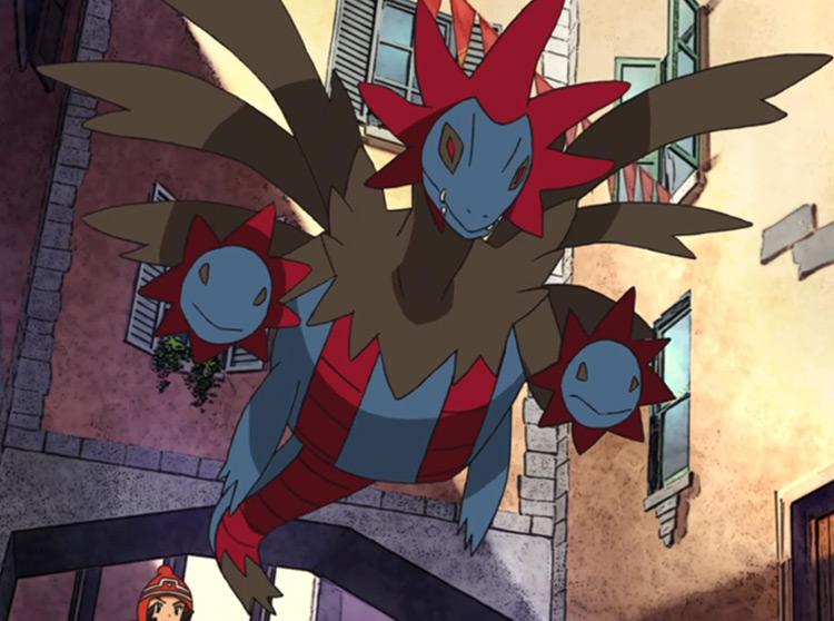 Hydreigon Pokemon anime screenshot