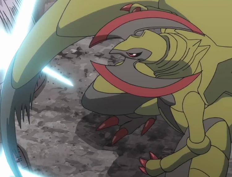 Haxorus from Pokemon anime