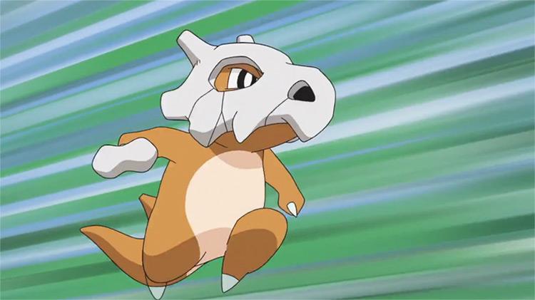 Cubone in Pokemon anime