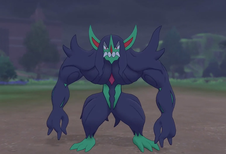 Grimmsnarl in Pokémon Sword and Shield