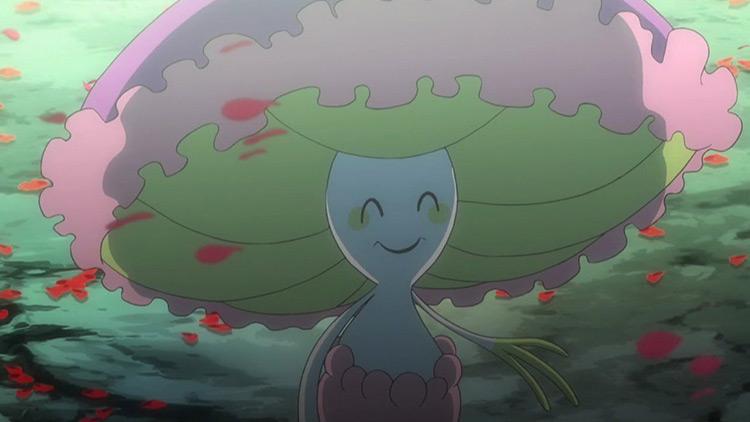Shiinotic Pokemon anime screenshot