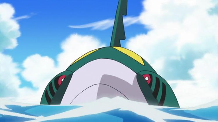 Sharpedo in Pokemon anime