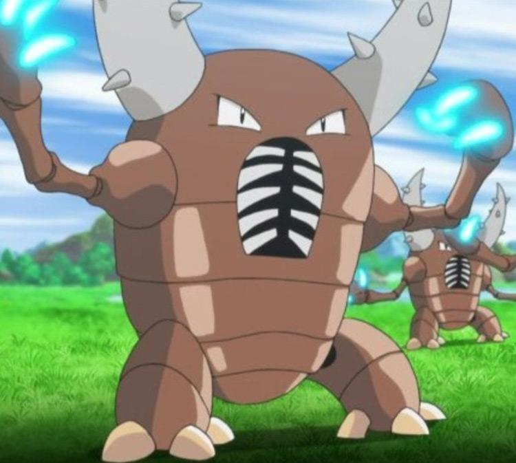 Pinsir Pokemon anime screenshot