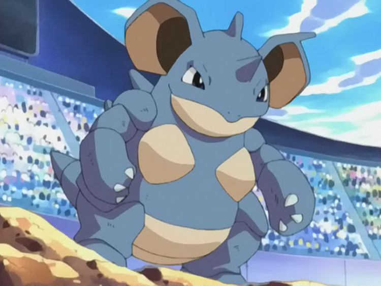 Nidoqueen in Pokemon anime