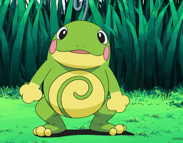 Politoed Pokemon in the anime