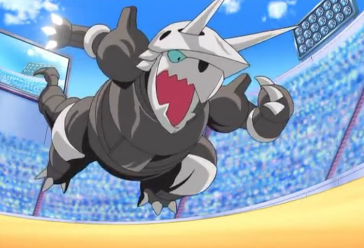 Aggron in Pokemon anime