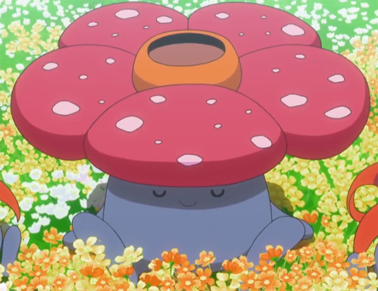Vileplume Pokemon in the anime