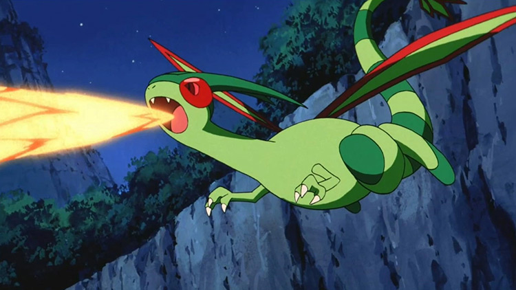 Flygon in Pokemon anime