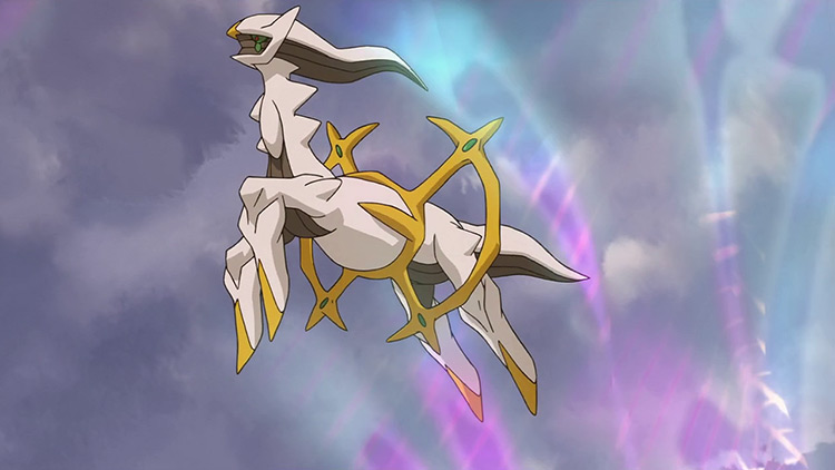 Arceus in Pokemon anime