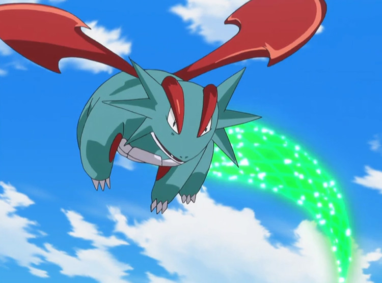 Salamence in Pokemon anime
