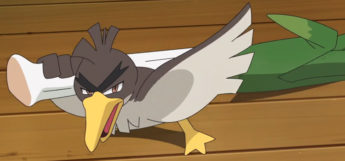 Galarian Farfetchd Pokemon Screenshot