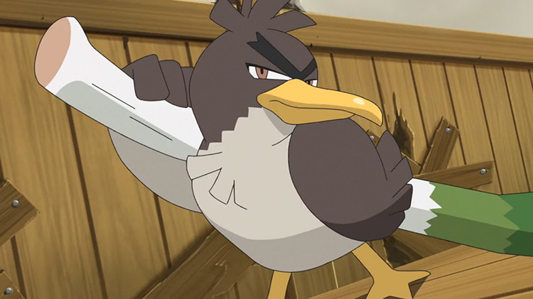 Galarian Farfetch'd from Pokemon anime