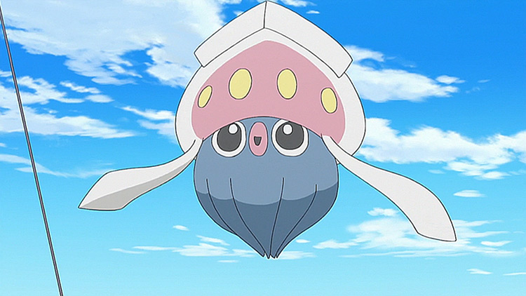 Inkay Pokemon anime screenshot