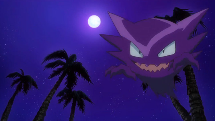 Haunter Pokemon in the anime