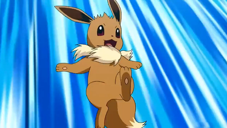 Eevee Pokemon anime screenshot