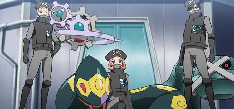 Pokemon Anime - Team Plasma Grunts Screenshot