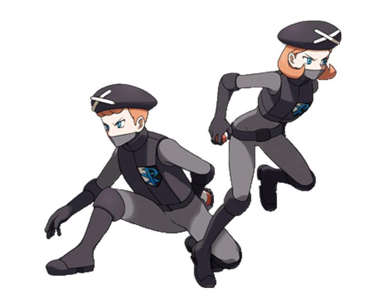 Plasma Grunt Pokémon Trainer Class