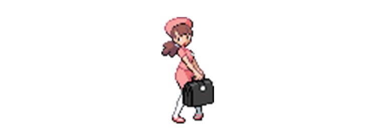 Nurse Pokémon Trainer Class