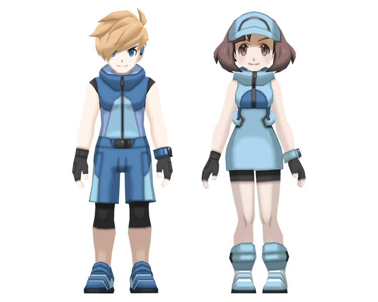 Ace Duo / Cool Couple Trainer Class in Pokémon