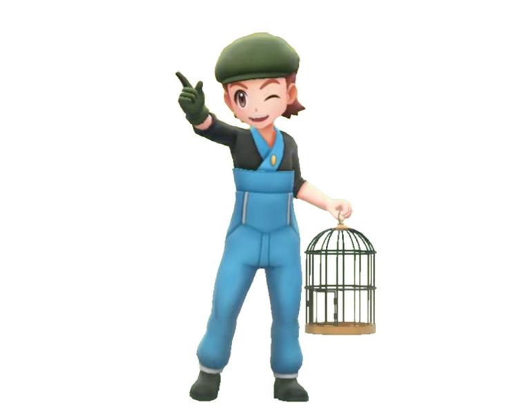 Bird Keeper Trainer Class in Pokémon