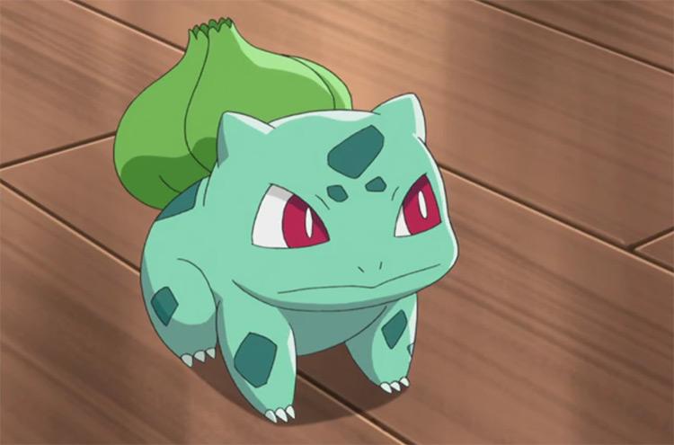 Bulbasaur Pokemon in the anime