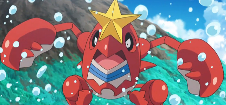 Crawdaunt from the Pokémon anime