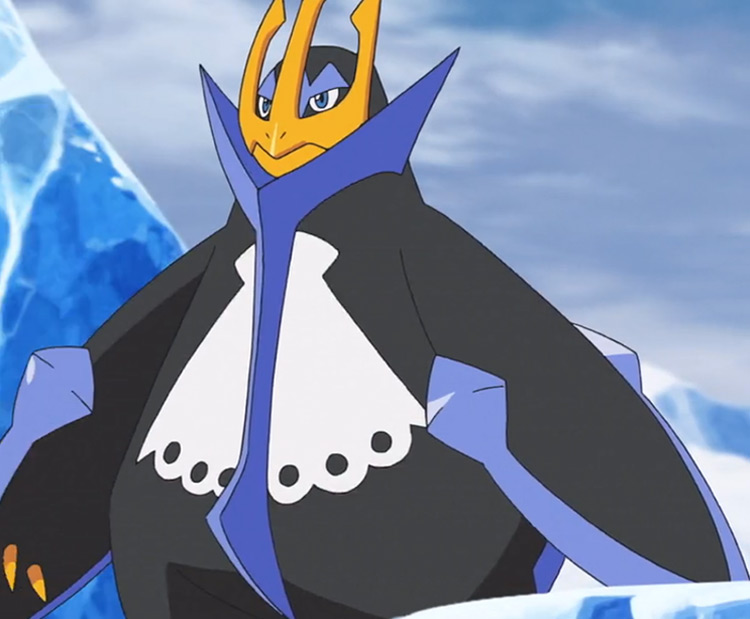 Empoleon Pokémon in the anime