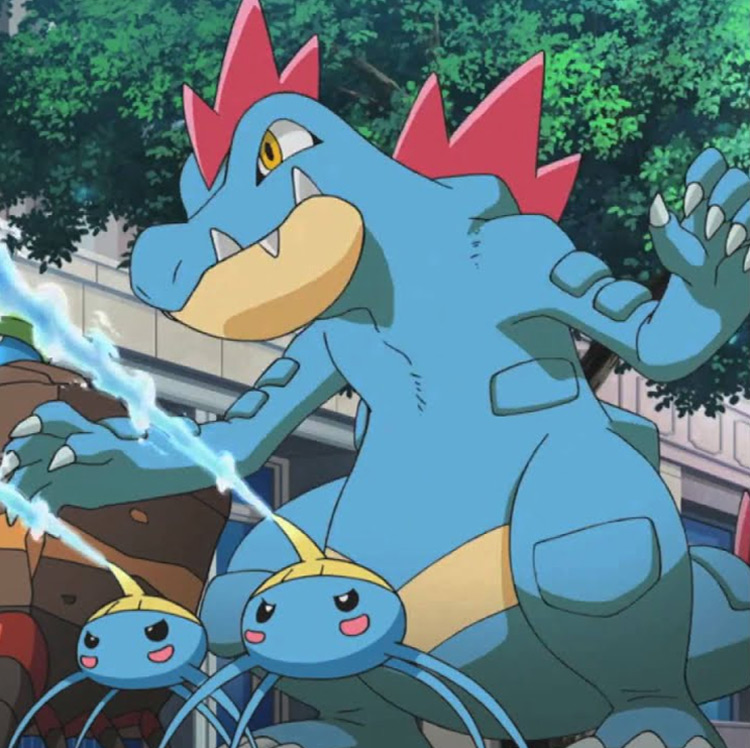 Feraligatr from Pokémon anime
