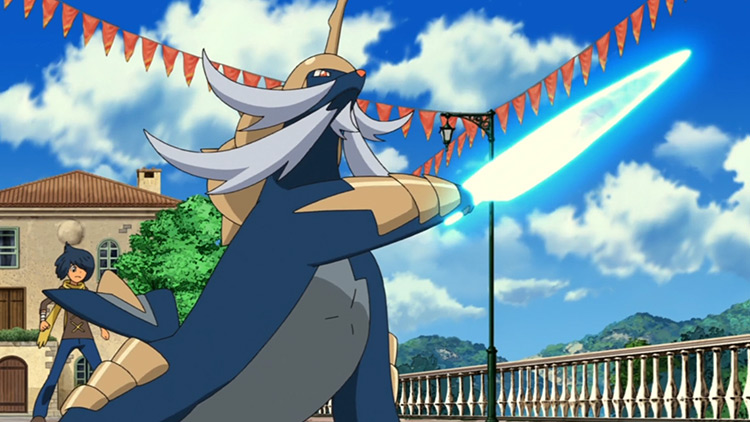 Samurott Pokémon in the anime