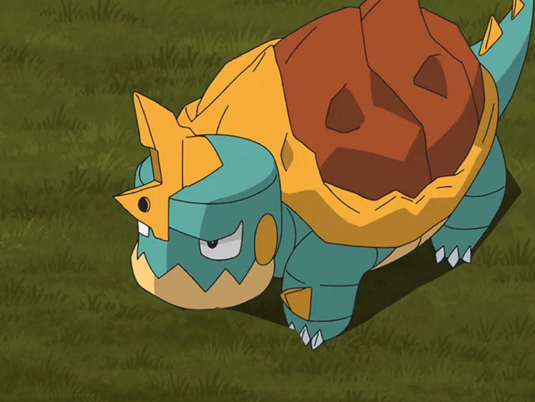 Drednaw Pokémon anime screenshot