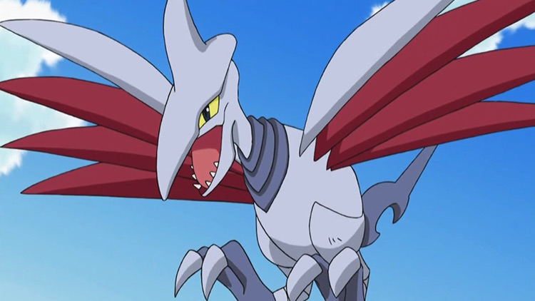 Skarmory - Roost in the Pokémon anime