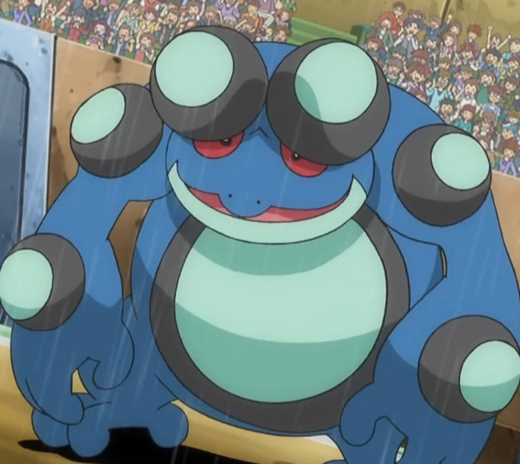 Seismitoad - Toxic Pokémon anime screenshot