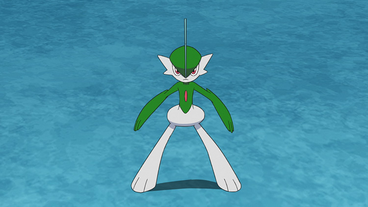 Gallade - Shadow Sneak Pokémon anime screenshot