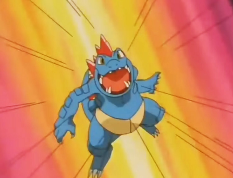Feraligatr - Dragon Dance anime screenshot