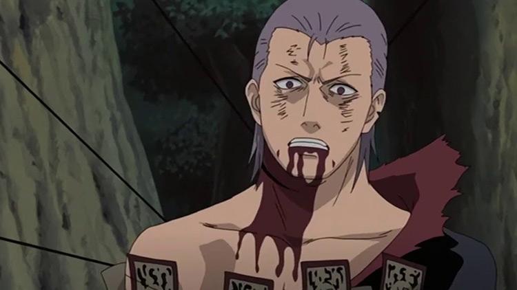 Hidan from Naruto: Shippuden anime