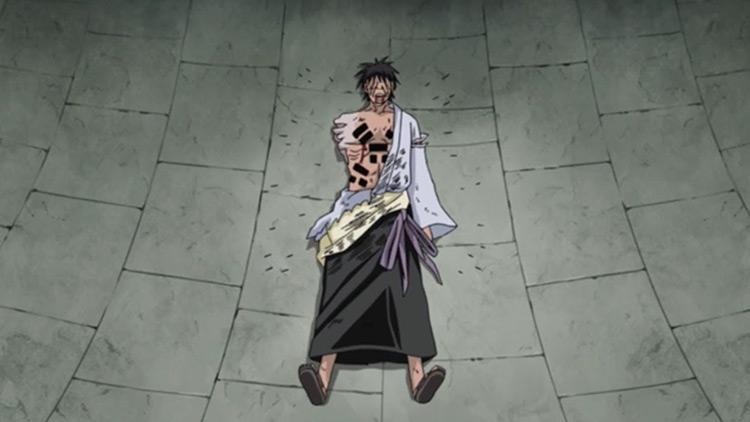 Danzou Shimura in Naruto: Shippuden anime