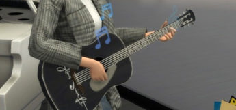 Taylor Swift Guitar CC in The Sims 4