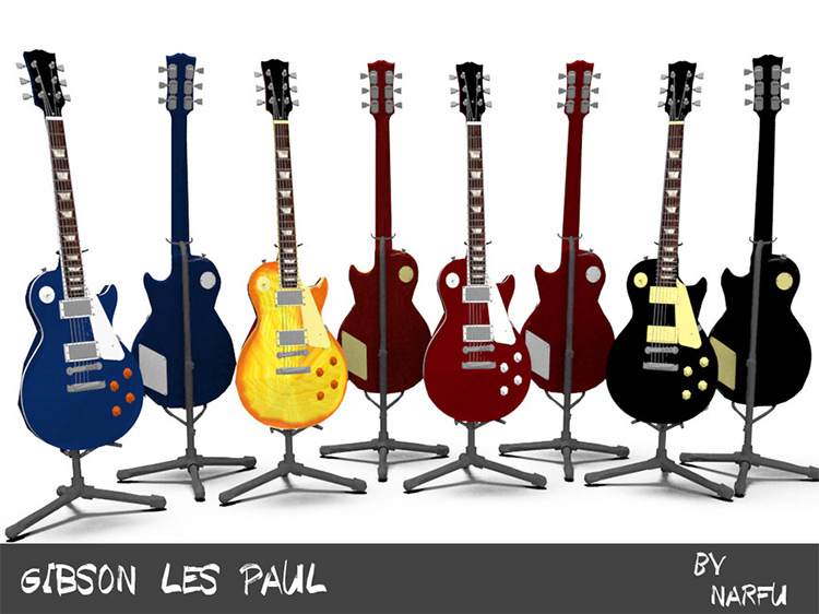 Gibson Les Paul for Sims 4