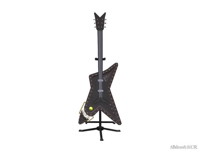 Living Steampunk Guitar TS4 CC