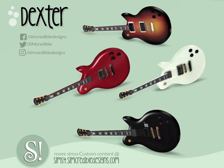 Dexter Mini Guitar TS4 CC