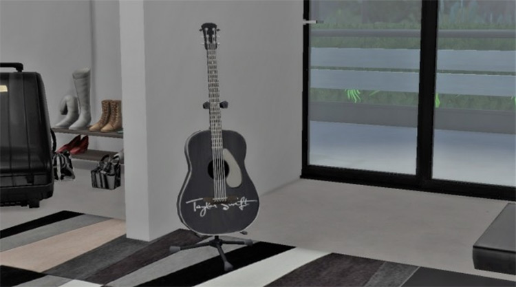Taylor Swift Guitar for Sims 4
